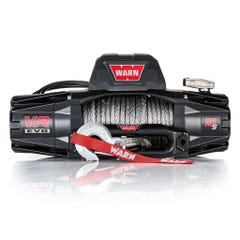 Warn VR EVO 10s Electric Off Road Truck Winch With Wireless Remote - 9.5mm Synthetic Rope