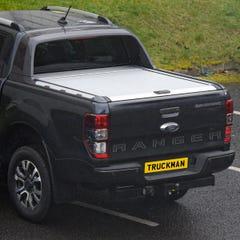 Mountain Top Roller Silver Tonneau Cover Ford Ranger Wildtrak Mk5-7 (2012 Onwards) Double Cab