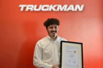 Truckman Apprentice Achieves Distinction and Secures Full-Time Job