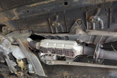 Catalytic converter theft on the rise