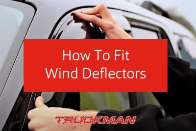 How To Fit Wind Deflectors