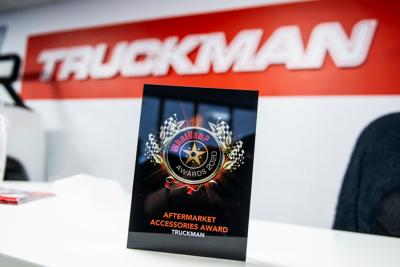 Truckman wins second consecutive industry award
