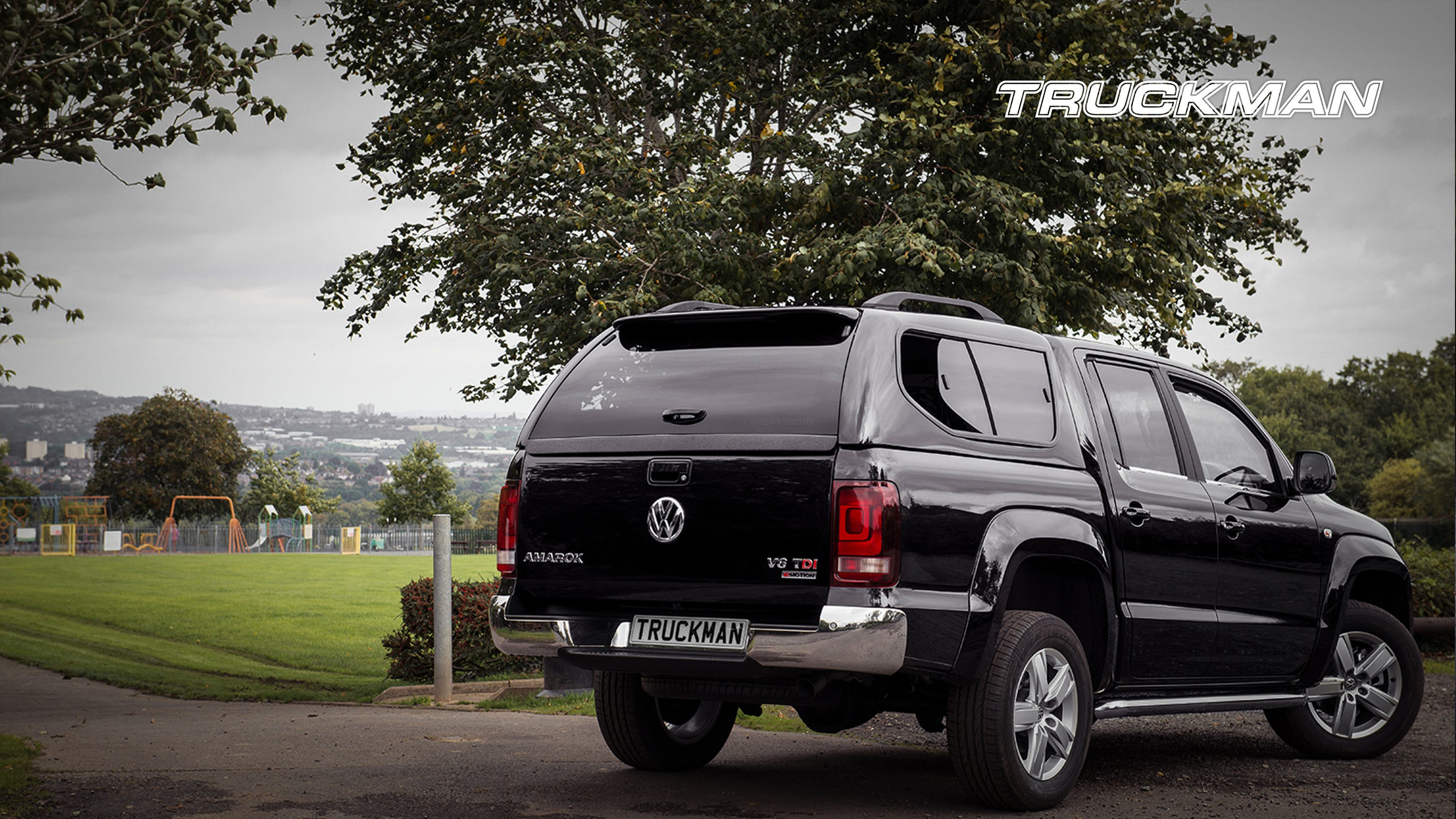 Volkswagen Amarok Fitted With a Truckman GLS Hardtop Canopy (Landscape)