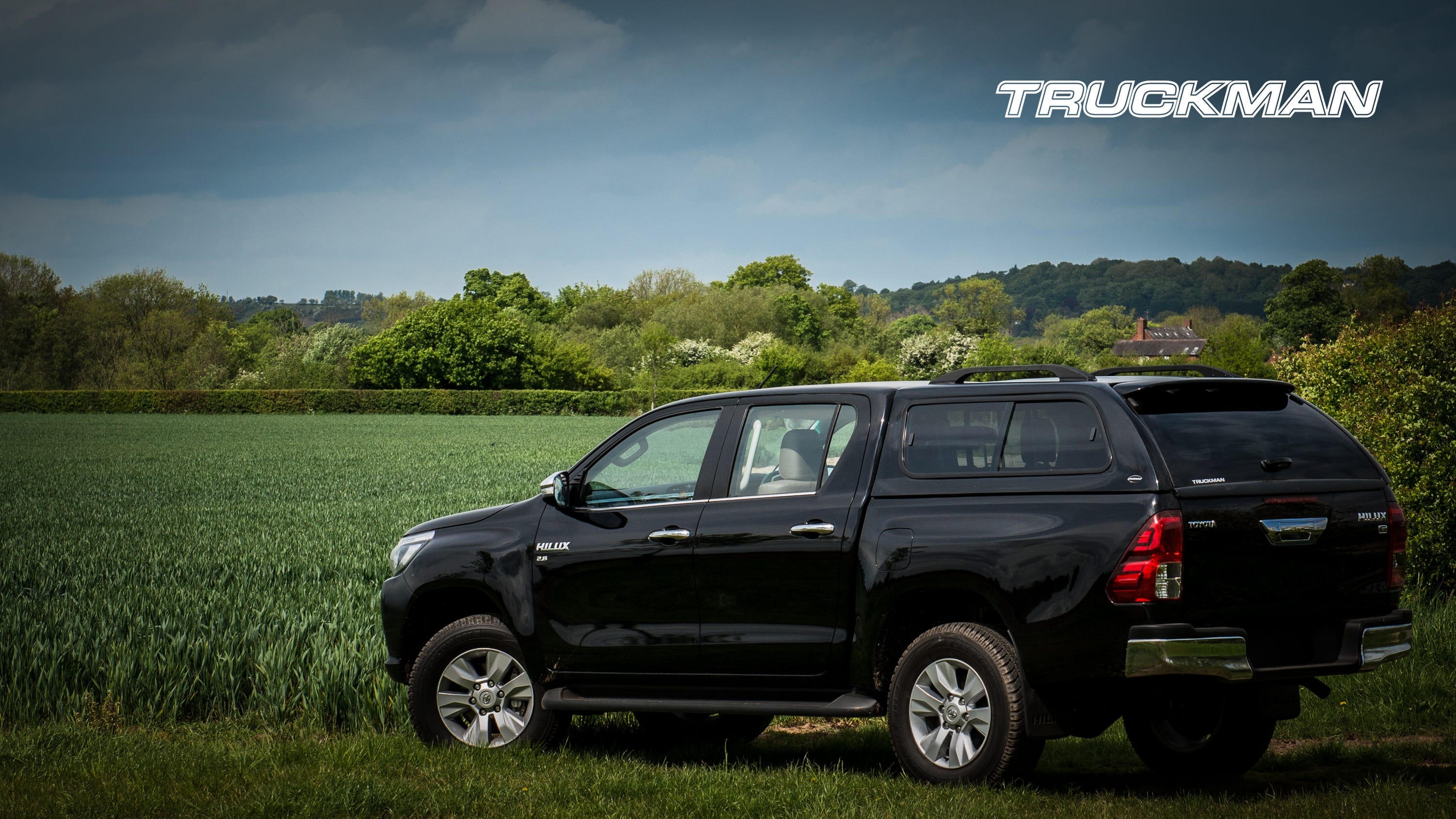 Toyota Hilux Double Cab Fitted With a Truckman GLS Hardtop Canopy (Landscape)