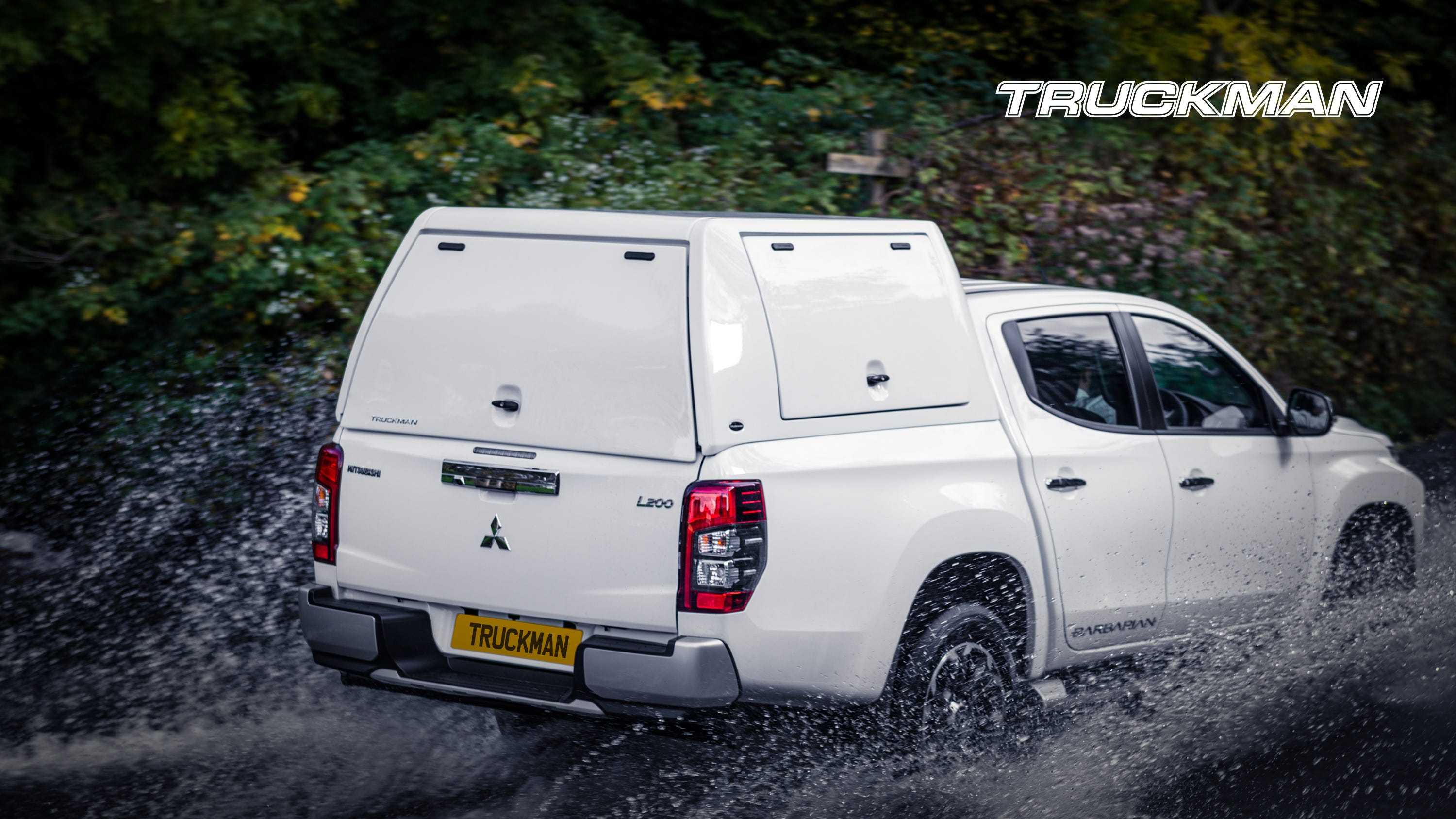 Mitsubishi L200 Double Cab Fitted With a Truckman Utility Hardtop Canopy