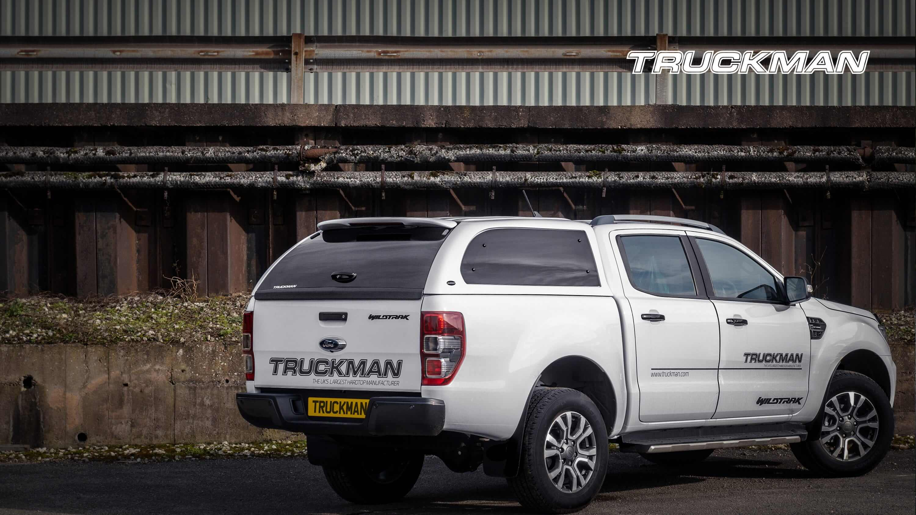 Ford Ranger Double Cab Fitted With a Truckman Grand Hardtop Canopy (Landscape)